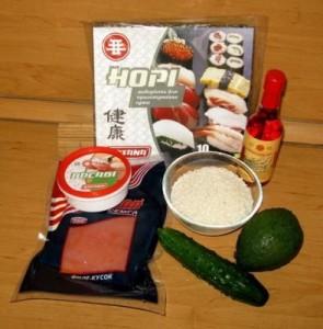 ингредиенты для ролл нори-маки