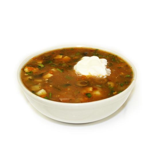 Вкусный суп из морепродуктов