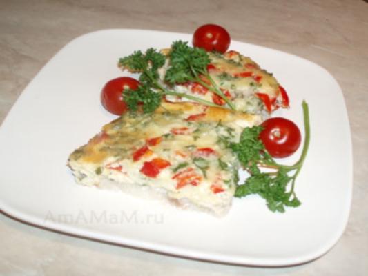 Нежный пангасиус с сыром в фольге