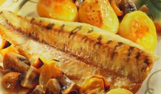 Рецепт судака в духовке с картошкой фото