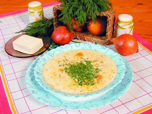 Рецепт вкусного рыбного супа с сыром