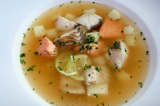 Супы: как приготовить рыбный суп