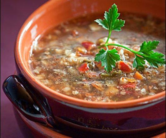 Рецепт приготовления супа из гречки!
