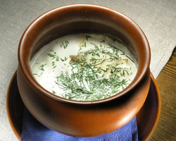 Рецепт сливочного супа с семгой