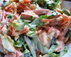 "Быстро и вкусно: салат ""Блондиночка"""