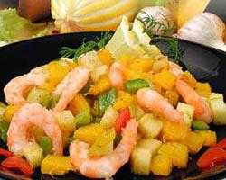 """Вкусный салат """"Золотая рыбка"""""""