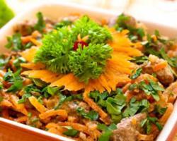 Редкий чипсовый салат с рыбой и кукурузой