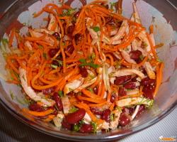 Рецепт корейской закуски из кальмаров