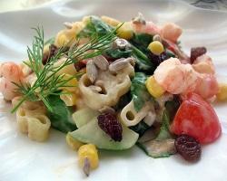 """Морской салат """"В гостях у рыбки"""""""