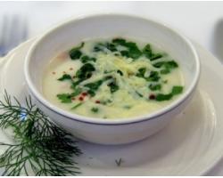 Рецепт супа из спаржи с морепродуктами