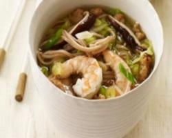 Рецепт прозрачного супа с мидиями