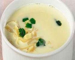 Суп с креветками на кокосовом молоке