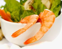 "Салат из морского коктейля ""а-ля Цезарь"""