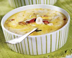 Рецепт молочного супа с морепродуктами