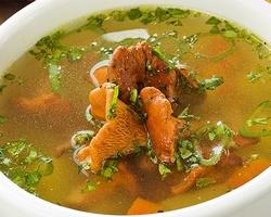 Рыбный суп с перловкой и картошкой