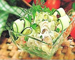 Как приготовить изысканный рыбный салат